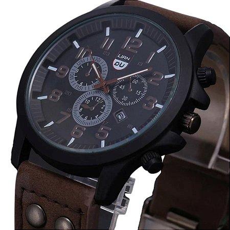 Relógio LIAN DL Brown