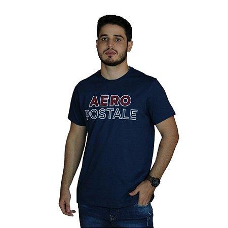 Camiseta AÉROPOSTALE Azul Marinho