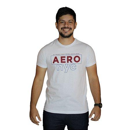 Camiseta AEROPOSTALE NYC Branco