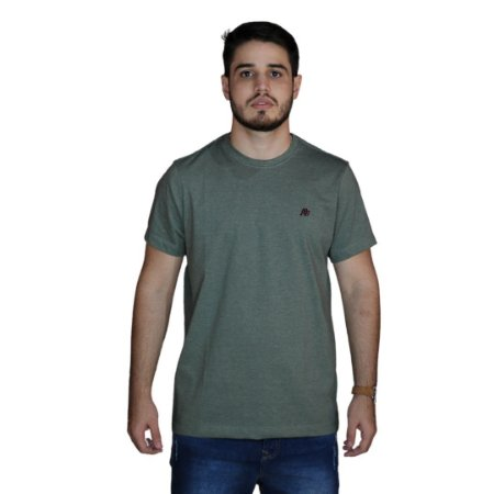 Camiseta AEROPOSTALE Básica Verde Militar