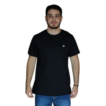 Camiseta AEROPOSTALE Básica Preto