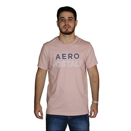 Camiseta AEROPOSTALE Rosa Claro