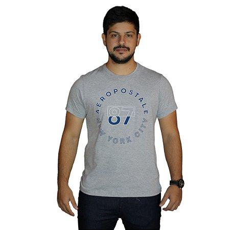Camiseta AÉROPOSTALE 87 New York City Cinza