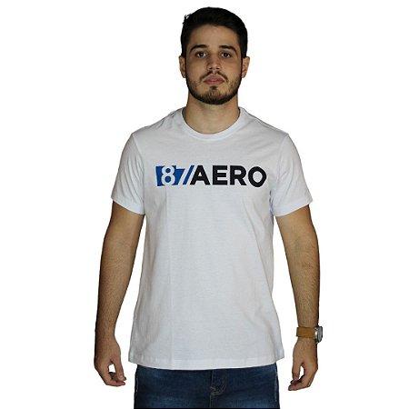 Camiseta AEROPOSTALE Logo 87 Aero Branco