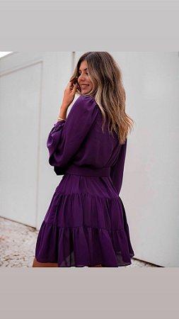 Vestido Zerafina Roxo