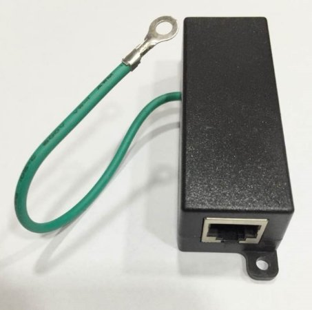 Protetor De Linha Surto Dps Rede Gigabit Ethernet Rj45
