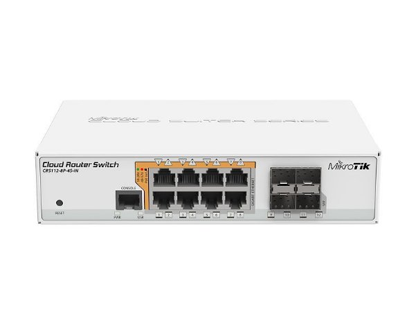Mikrotik Smart Switch CRS112-8p-4s-in POE