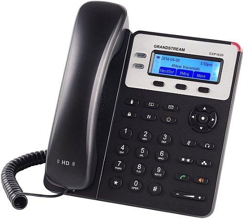 TELEFONE IP HD GXP1620 GRANDSTREAM 2 LINHAS SIP