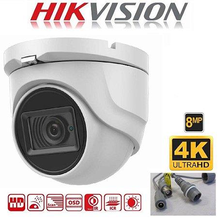 HIKVISION CAMERA HD 4K TURRET DS-2CE78U1T-IT1F 8MP 3.6MM