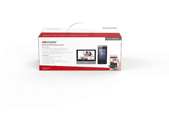 HIKVISION KIT VIDEO PORTEIRO INTERCOM IP DS-KIS901-P