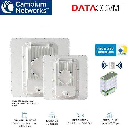 Cambium Radio Ptp 550 Ap Gigabit 5ghz 1.4Gbit 23dbi Integradado
