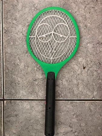 Raquete Mata Mosquito Recarregável 127v CX 60PÇS