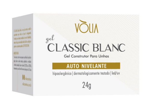 GEL VÒLIA CLASSIC BLANC 24g
