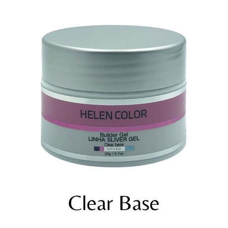 GEL UV/ LED HELLEN COLOR SILVER CLEAR BASE 20G