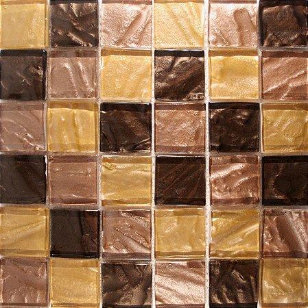 PASTILHA DE VIDRO GOLD BROWN AMY063