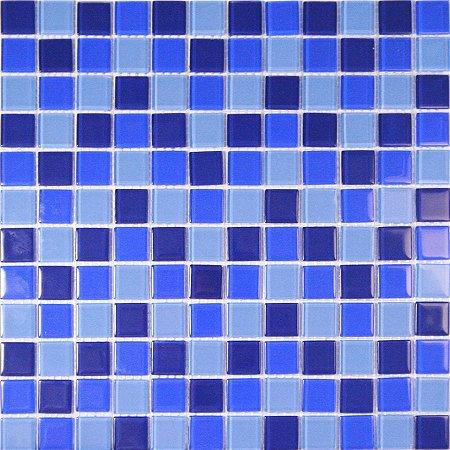 MIX CRISTAL GLASS TONS DE AZUIS CG28/CG27/CG26