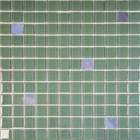 CRISTAL GLASS ESPELHO E VERDE CG42-CG22