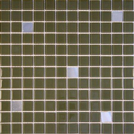 CRISTAL GLASS ESPELHO E VERDE CG42-CG24