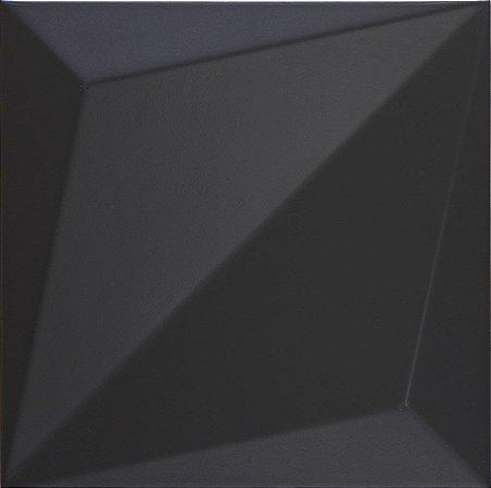 DUNE ORIGAMI BLACK 25X25 CM