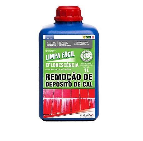 LIMPA FÁCIL EFLORESCÊNCIA REMOÇÃO DE DEPOSITO DE CAL 1 LITRO - PERFORMANCE ECO