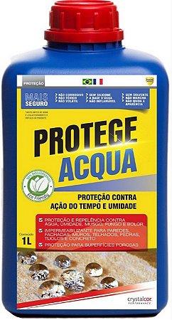 PROTEGE ACQUA - PROTEÇÃO CONTRA AÇÃO DO TEMPO E UMIDADE 1 LITRO - PERFORMANCE ECO