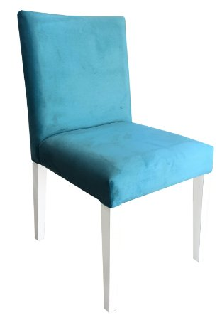 Cadeira Estofada Sofia Branca Espaldar