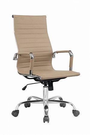 Cadeira Presidente Charles Eames Esteirinha Fendi