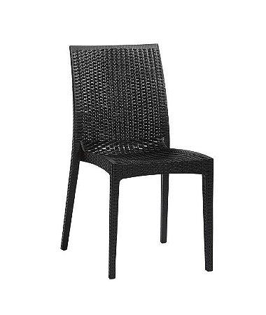 Cadeira em Polipropileno Ibiza - Preta