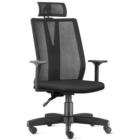 Cadeira Presidente Ergonômica Executiva em Tela Addit