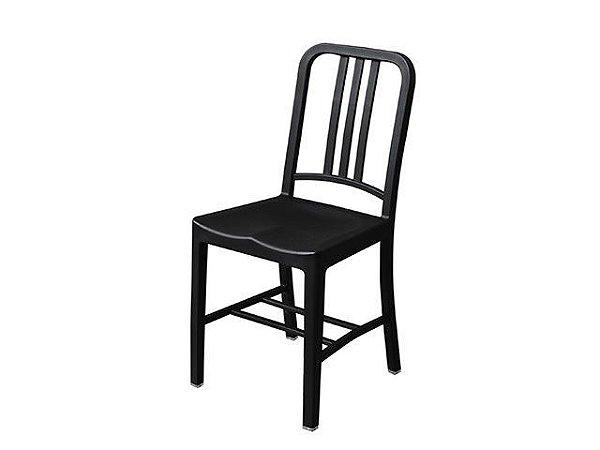 Cadeira Navy Polipropileno Preta