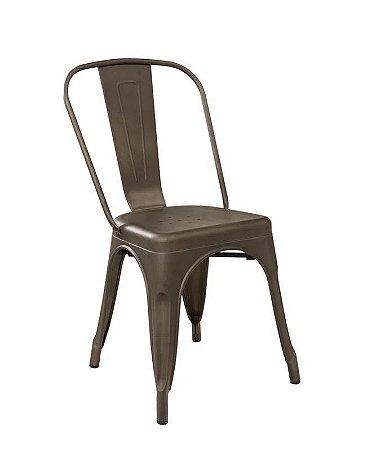 Cadeira Tolix Bronze Envelhecido