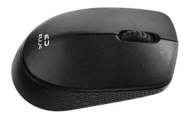 Mouse sem Fio C3 Plus - M-W17 Preto