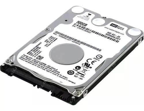 Hd Notebook 500gb Western Digital Wd5000luct Av Slim