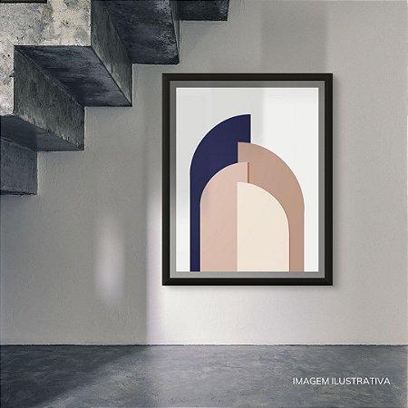 Quadro Abstrato - Arcos 01