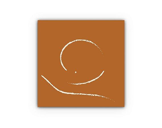 Quadro Abstrato - Coleção Tribo - Decorativo Lua