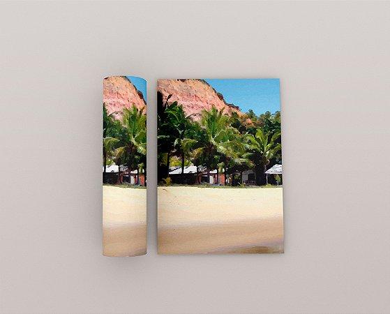 Quadro Praia - Coleção Bahia - Falésia 01