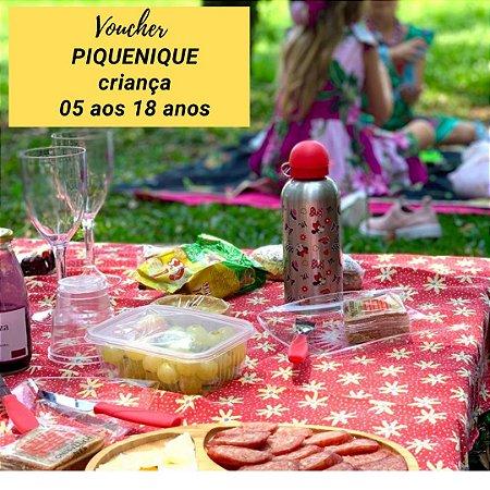 Voucher  piquenique  - CRIANÇA DE 05 AOS 18 ANOS