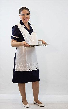 1 Vestido Copeira Gabardine