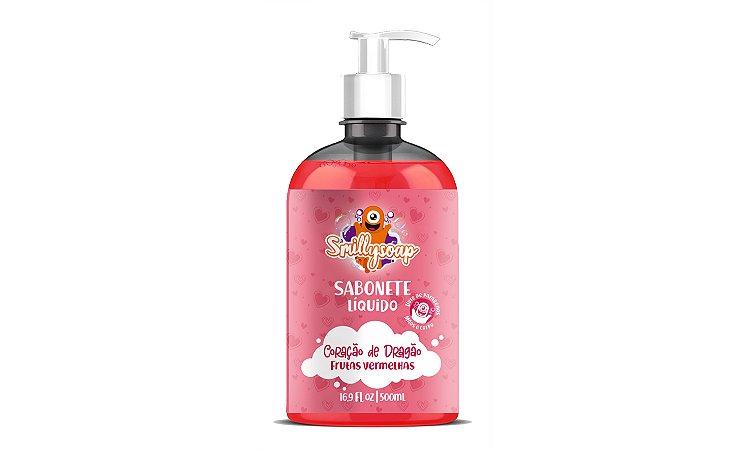 SMILLYSOAP Sabonete para higiene das mãos - 500ml (REFIL) Cor:Vermelho