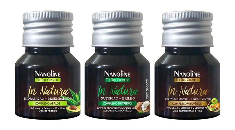 NANOLINE IN NATURA Ampola de óleos essenciais tratamento