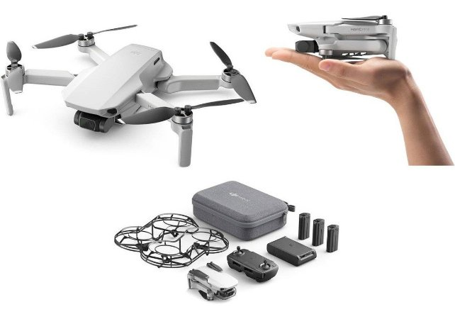 DJI Quadcopter Mavic Mini Fly More Combo