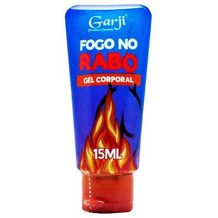 FOGO NO RABO EXCITANTE ANAL À BASE D'ÁGUA 15ML GARJI