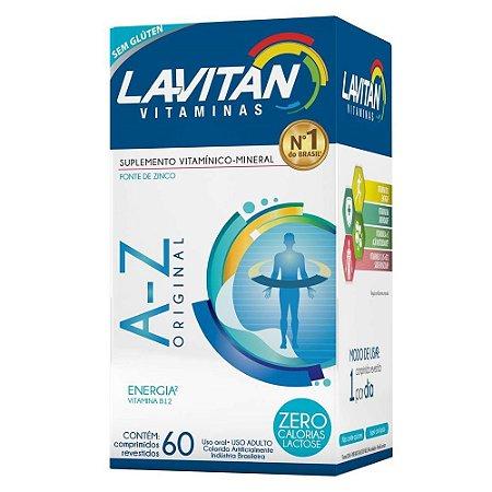 LAVITAN ORIGINAL VITAMINAS A-Z 60 CÁPSULAS CIMED
