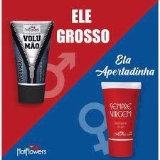 Gel Sempre Virgem Adstringente + Gel Volumão - Kit Casal SEXSHOP