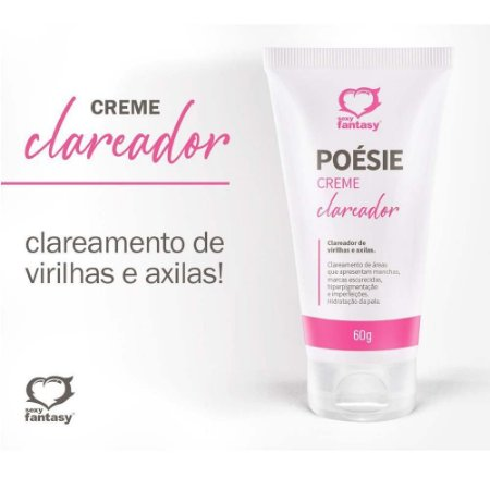 POÉSIE CLAREADOR CREME 60G SEXY FANTASY