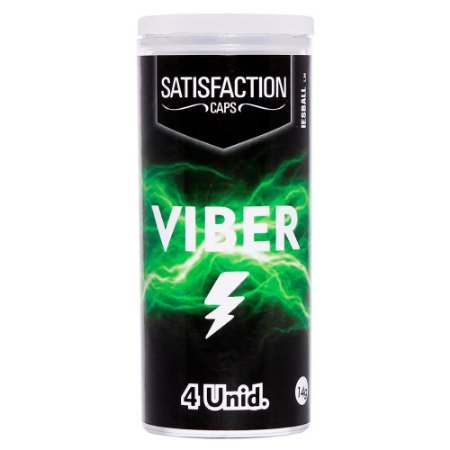 BOLINHA VIBER 4 UNIDADES SATISFACTION