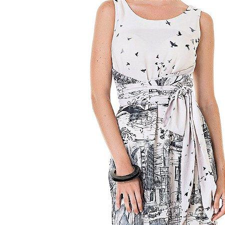 Vestido Midi Histórias De Luisa - Ref.: 106454