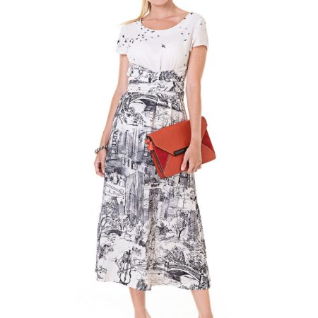 Vestido Midi História De Luisa - Ref.: 106455