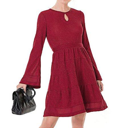 Vestido Secretário Tricot Isabela - Ref.: 101040