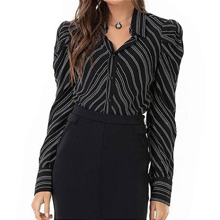 Camisa Listrada Alexia - Ref.:122772